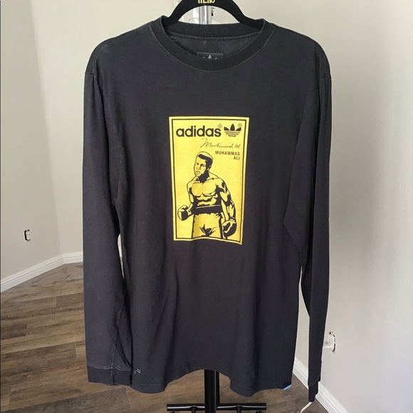462cfccc adidas Shirts | Vintage Muhammad Ali Long Sleeve T Shirt | Poshmark